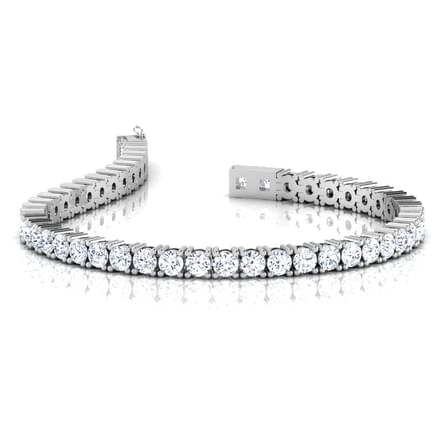 Heavenly Tennis Bracelet