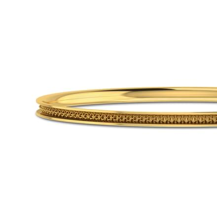 Gold Element Bangle