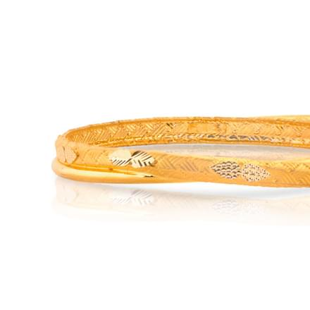 Arni Braided Gold Bangle