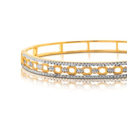 Aaoka Linked Gold Bangle