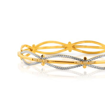 Iha Glitter Gold Bangle