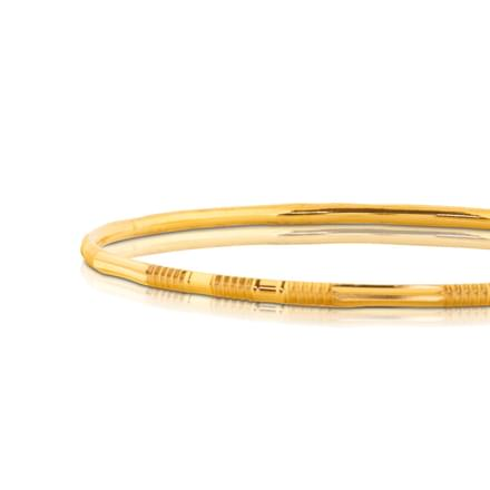 Ilma Spiral Gold Bangle