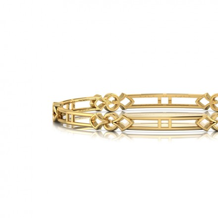 Demi Entwined Bangle