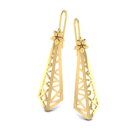 Cone Drop Earrings