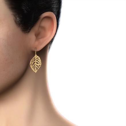 Leaf Cut-out Earrings
