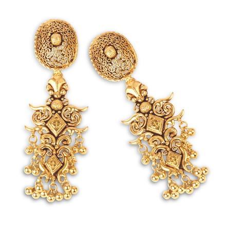 Situla Swirl Drop Earrings