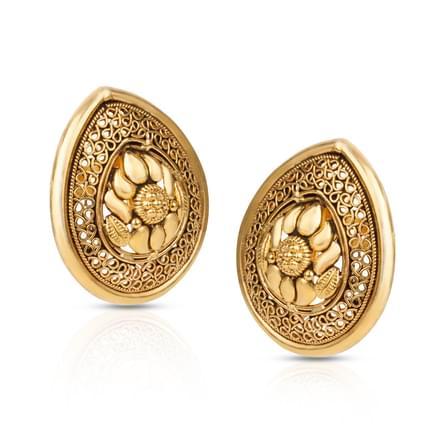 Paisley in Pear Stud Earrings