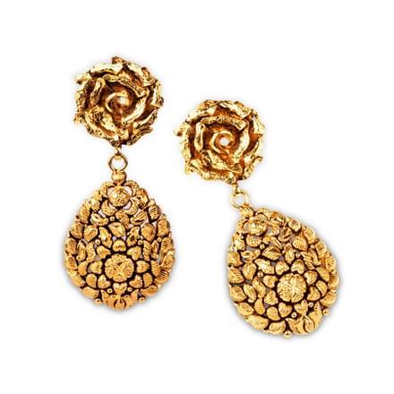 Laleh Rose Drop Earrings