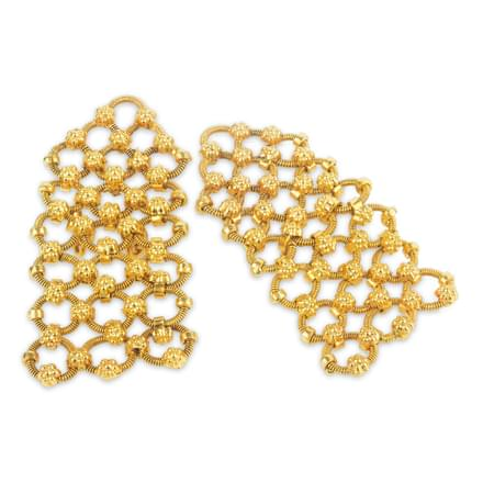 Bruna Mesh Stud Earrings