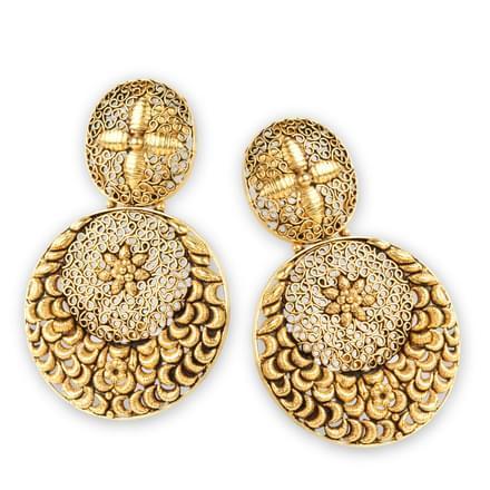 Petal Sow Drop Earrings