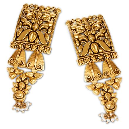Nunki  Bell Drop Earrings