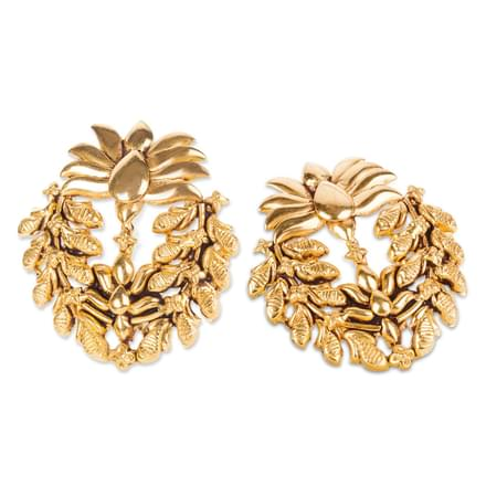 Mai Leafy Stud Earrings