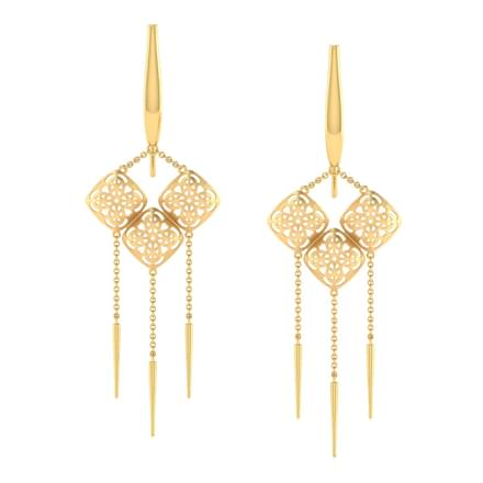 Avery Wind Chimes Drop Earrings