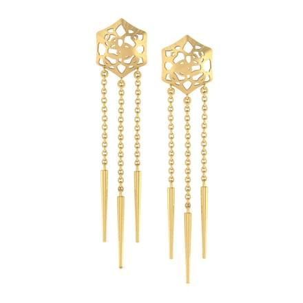 Abbey Cutout Drop Earrings