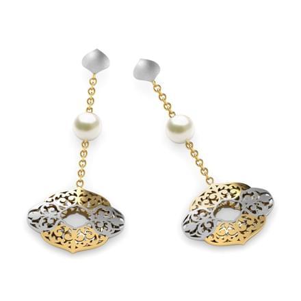 Kelsie Cutout Drop Earrings