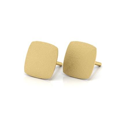 Janna Hammered Stud Earrings