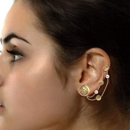 Kinsey Cutout Ear Cuffs