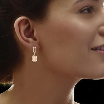 Idena Geometric Drop Earrings