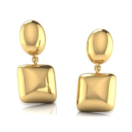 Anya Geometric Drop Earrings