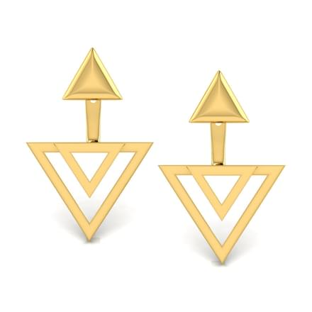 Lula Geometric Ear Jacket Earrings