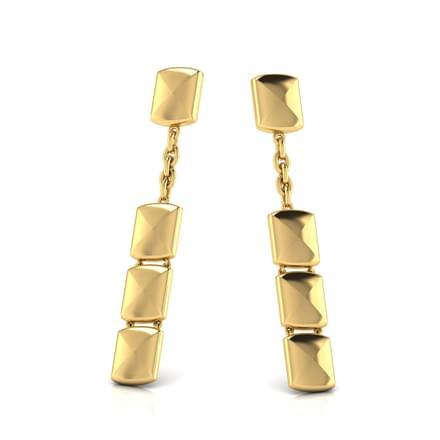 Selina Geometric Drop Earrings