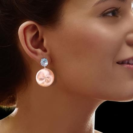 Malia Stamped Drop Earrings