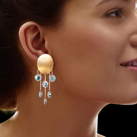 Dana Stamped Drop Earrings