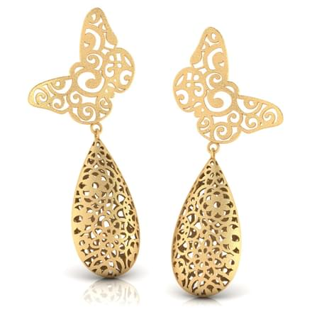 Madison Cutout Drop Earrings