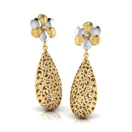 Laila Cutout Drop Earrings