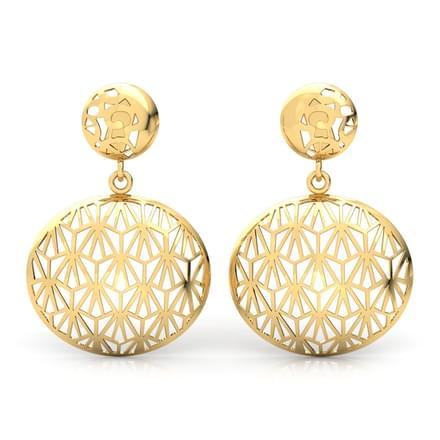 1685 Earrings Designs Gold And Diamond Earrings Price
