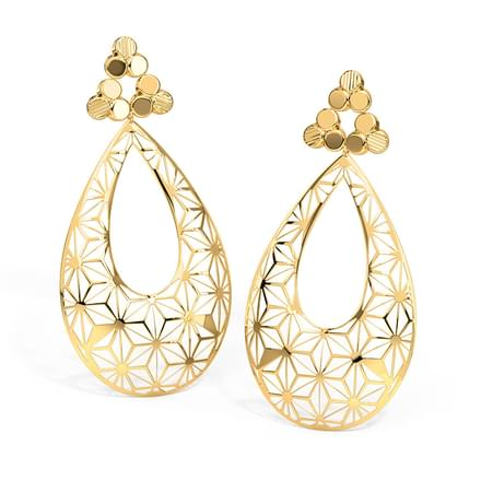 Millie Cutout Drop Earrings