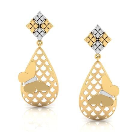 Valeria Cutout Drop Earrings