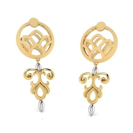 Elsie Cutout Drop Earrings
