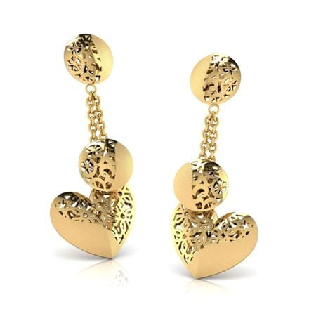 Marie Cutout Drop Earrings