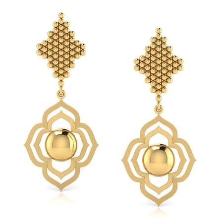 Floret Jharokha Drop Earrings