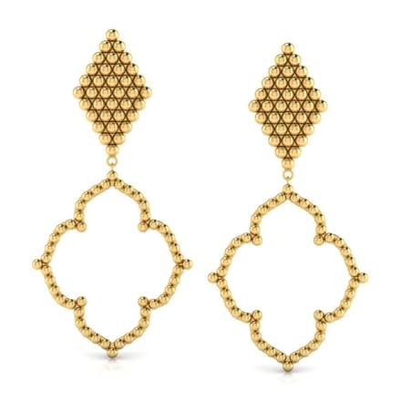 Classy Jharokha Drop Earrings