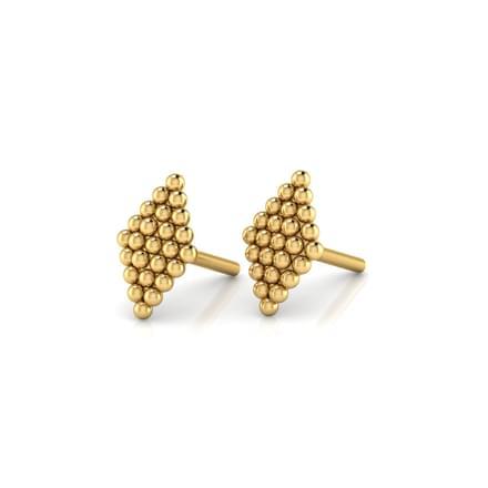 Delicate Jharokha Stud Earrings