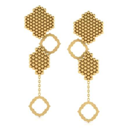 Elegant Jharokha Drop Earrings