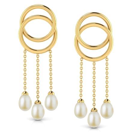 Tassel 'O' Drop Earrings