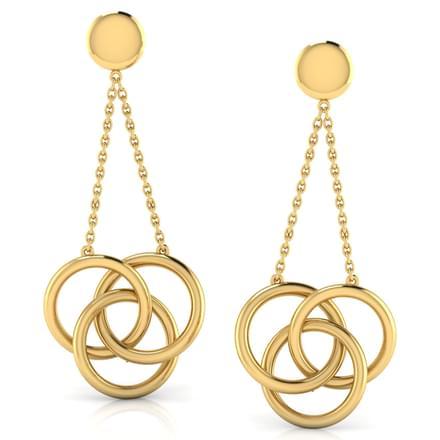 Trinity 'O' Drop Earrings