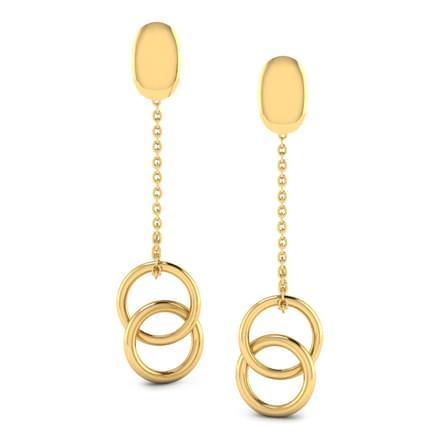 Allied 'O' Drop Earrings
