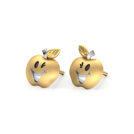 Lee Apple Stud Earrings