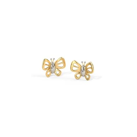 Arlette Butterfly Stud Earrings