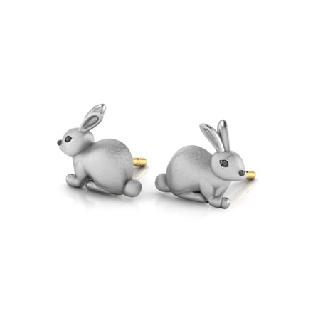 Beila Rabbit Stud Earrings