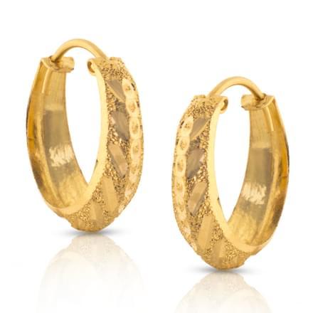 Elisha Glint Gold Earrings