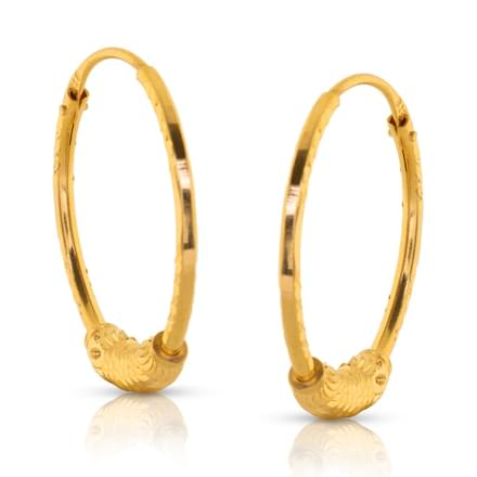 327472252 171 Hoop Earrings Designs, Buy Diamond Hoop Earrings for Women Price ...