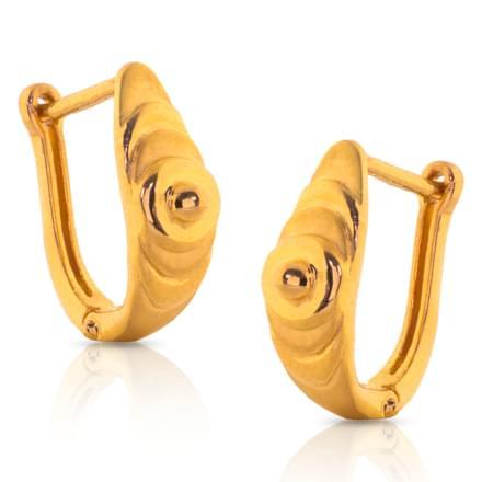 Heti Flash Gold Earrings
