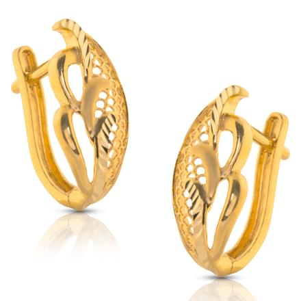 Anuva Mesh Gold Earrings