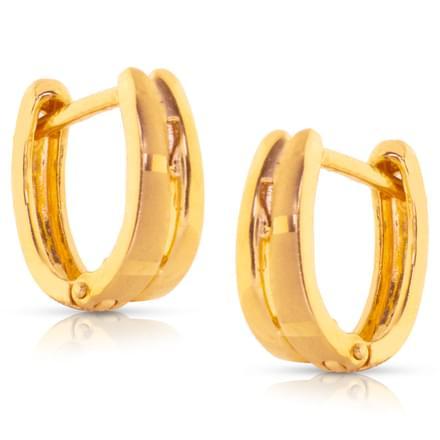 Hira Classic Gold Earrings