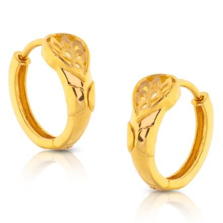 Inu Cutout Gold Earrings